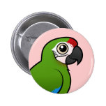 Military Macaw Pinback Button