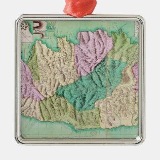 Military map of Corsica, 1768 Metal Ornament