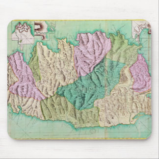 Military map of Corsica, 1768 Mouse Pad