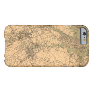 Military Map of South Eastern Virginia (1864) Barely There iPhone 6 Case