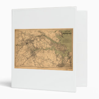 Military Map of South Eastern Virginia (1864) Binder
