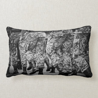 military marching pillow