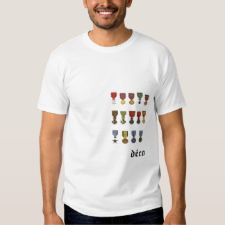 MILITARY MEDALS T-Shirt