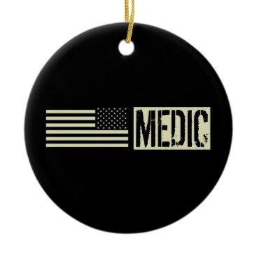 Military Medic Ceramic Ornament