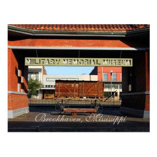 Military Memorial Museum - Brookhaven, MS Postcard