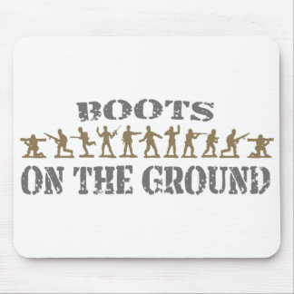 Military Men - Boots on the Ground Mouse Pad