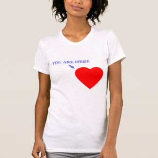 Military Miss You Are Here In My Heart T-Shirt