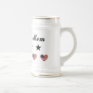 Military Mom Beer Stein