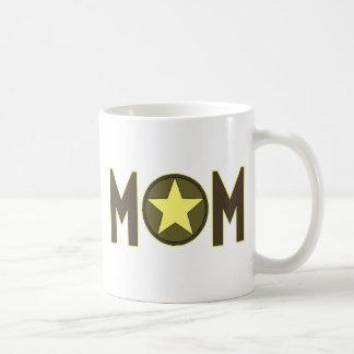 Military Mom Classic White Coffee Mug