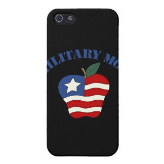Military Mom Patriotic Apple Cover For iPhone 5
