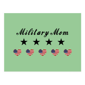 Military Mom Postcard