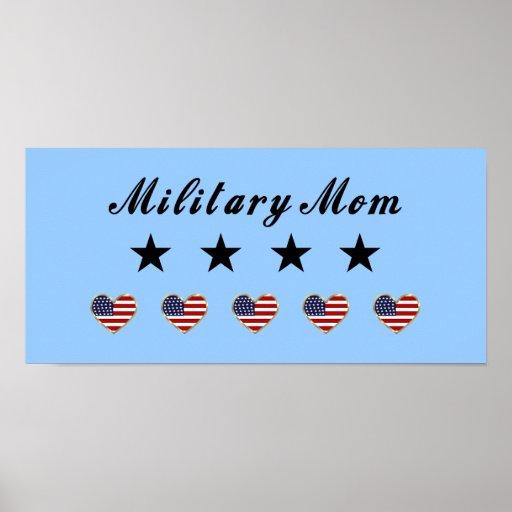 Military Mom Print