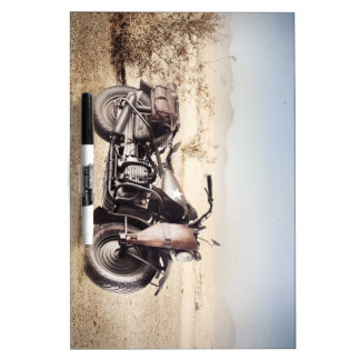 Military Motorcycle Dry Erase Board