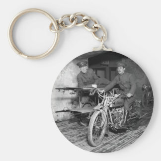 Military Motorcycle EMT, 1910s Keychain