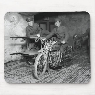 Military Motorcycle EMT 1910s Mousepad
