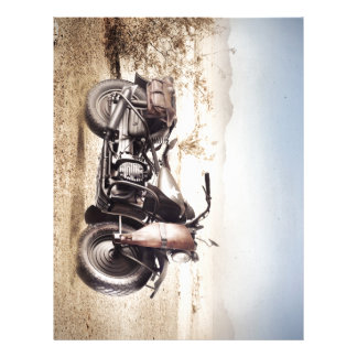 Military Motorcycle Letterhead