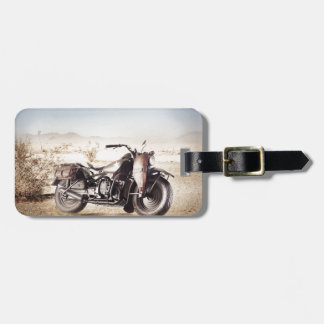 Military Motorcycle Luggage Tag