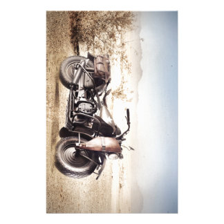 Military Motorcycle Stationery