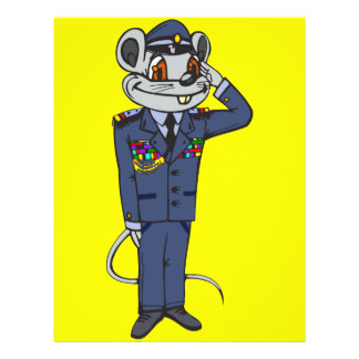 Military Mouse Flyer