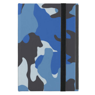 Military Navy Blue Camo Powis iCase iPad Mini Case