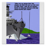 Military - Navy - Dolphin Escort Print