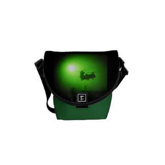 Military night vision helicopter courier bag