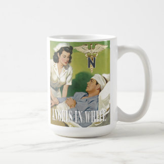 Military Nurses - Angels In White Coffee Cup