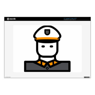 Military Officer Decal For Laptop