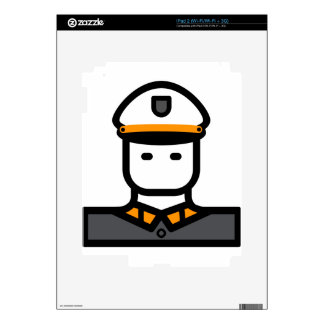 Military Officer Skin For iPad 2