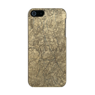 Military Operations of the Atlanta Campaign 2 Metallic Phone Case For iPhone SE/5/5s