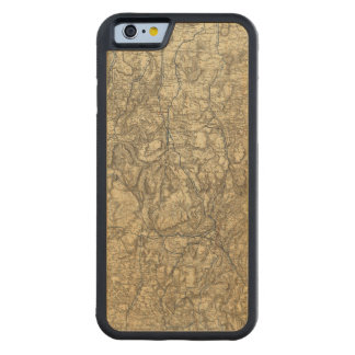 Military Operations of the Atlanta Campaign 2 Carved® Maple iPhone 6 Bumper Case
