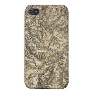 Military Operations of the Atlanta Campaign 3 iPhone 4/4S Case