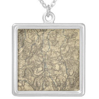 Military Operations of the Atlanta Campaign Personalized Necklace