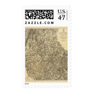 Military Operations of the Atlanta Campaign Postage