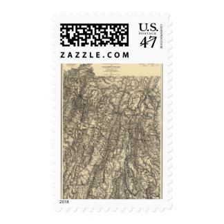 Military Operations of the Atlanta Campaign Postage Stamp