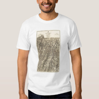 Military Operations of the Atlanta Campaign T-shirt