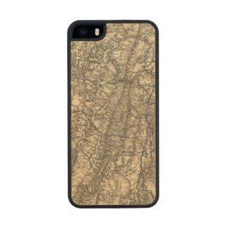 Military Operations of the Atlanta Campaign Carved® Maple iPhone 5 Case