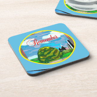 Military Outdoor Plastic Coasters (set of 6)