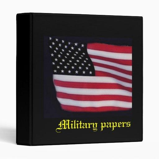 Military Ring Binder