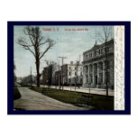 Military Park, Newark New Jersey 1908 Vintage Postcard