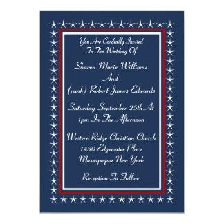 Elegant Patriotic Wedding Invitations Announcements Zazzle