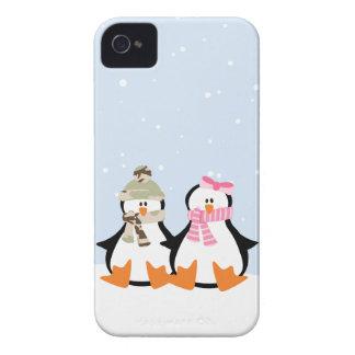 Military Penguin Couple Case-Mate iPhone 4 Case
