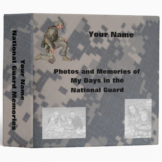 Military Photo Memory album Binder