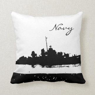 Military Pillows - Navy Ship