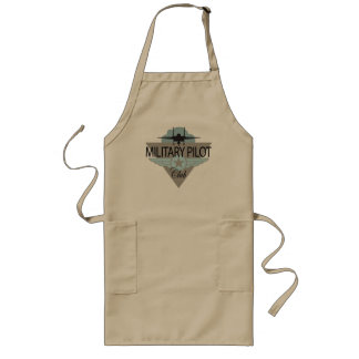 Military Pilot Club Long Apron