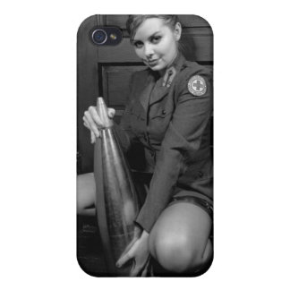 Military Pinup Girl iphone 4 Case