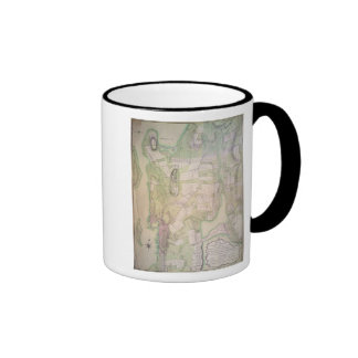 Military plan of Newport, 1777 Ringer Coffee Mug