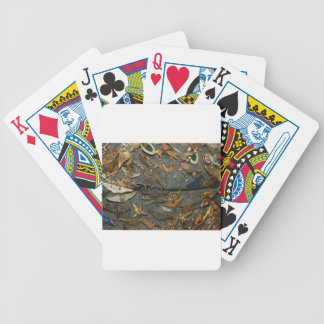 Military Bicycle Poker Cards
