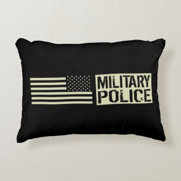 Military Police Accent Pillow