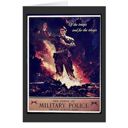 Military Police Card